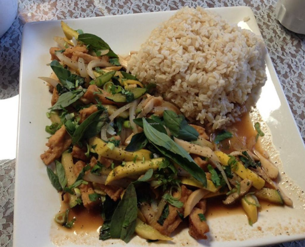 "Photo of An Hy Quan  by <a href=""/members/profile/mbentz"">mbentz</a> <br/>stir fried basil tofu <br/> January 5, 2014  - <a href='/contact/abuse/image/41711/209192'>Report</a>"