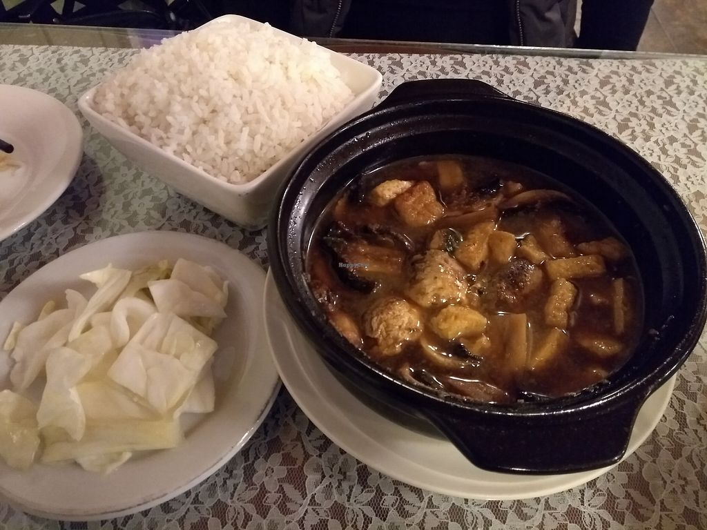 "Photo of An Hy Quan  by <a href=""/members/profile/bduboff"">bduboff</a> <br/>Tofu & Mushroom Claypot <br/> December 29, 2017  - <a href='/contact/abuse/image/41711/340581'>Report</a>"