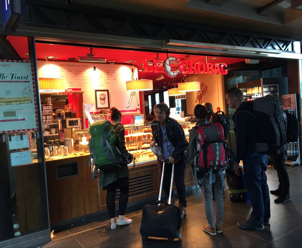 """Photo of Le Crobag - Hauptbahnhof  by <a href=""""/members/profile/marky_mark"""">marky_mark</a> <br/>outside <br/> July 14, 2016  - <a href='/contact/abuse/image/41714/159833'>Report</a>"""