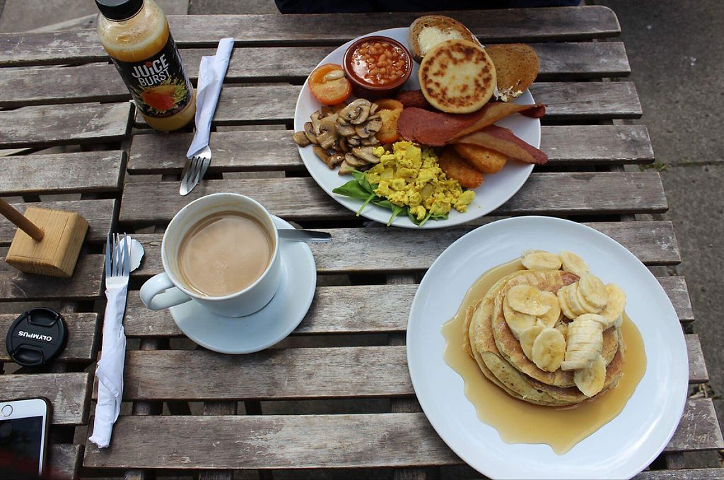 """Photo of Teatime Collective  by <a href=""""/members/profile/Alyse_xo"""">Alyse_xo</a> <br/>big breakfast and pancakes! <br/> May 4, 2017  - <a href='/contact/abuse/image/41717/255634'>Report</a>"""