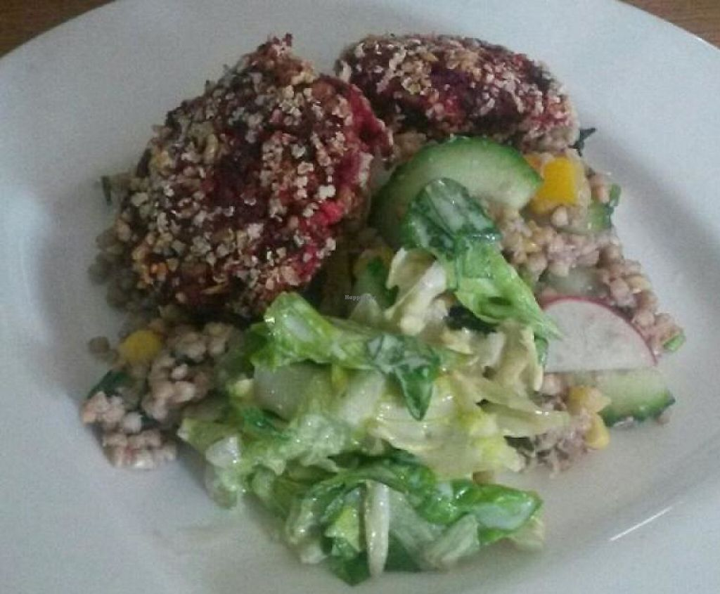 """Photo of Vegan Bar  by <a href=""""/members/profile/CheshireCat"""">CheshireCat</a> <br/>lunch menu <br/> February 20, 2014  - <a href='/contact/abuse/image/41723/243643'>Report</a>"""