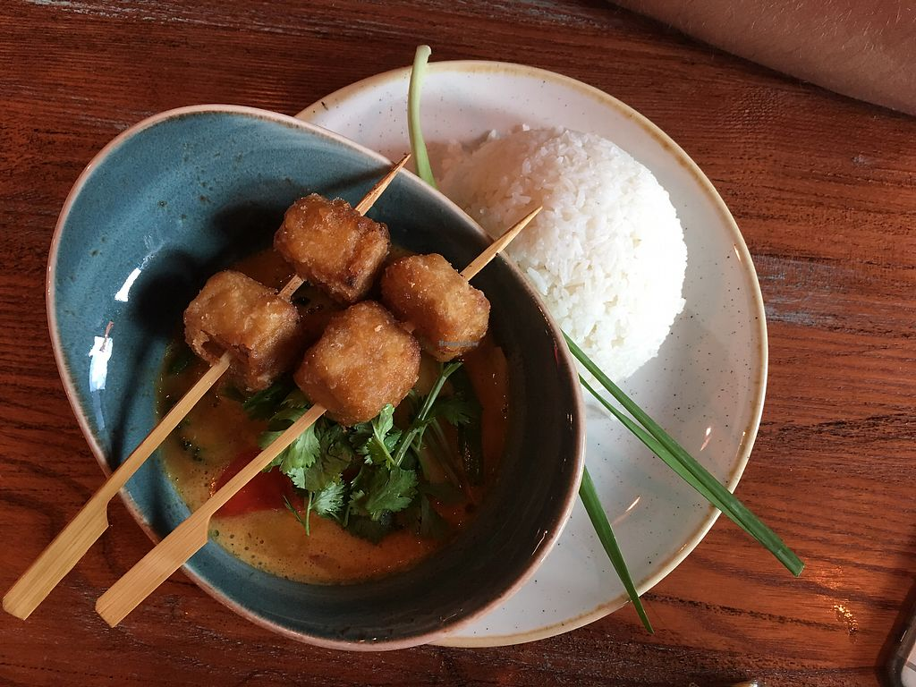 "Photo of Cha Cha  by <a href=""/members/profile/_zelisa"">_zelisa</a> <br/>Red curry with tofu  <br/> March 3, 2018  - <a href='/contact/abuse/image/41726/366254'>Report</a>"