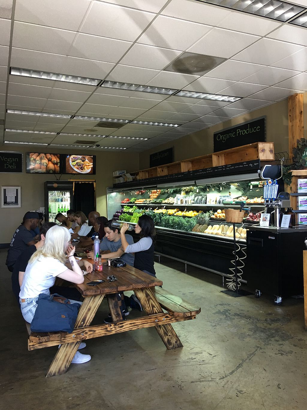"""Photo of Organix Vegan Deli  by <a href=""""/members/profile/Wallice"""">Wallice</a> <br/>Eating area  <br/> September 9, 2017  - <a href='/contact/abuse/image/41816/302745'>Report</a>"""