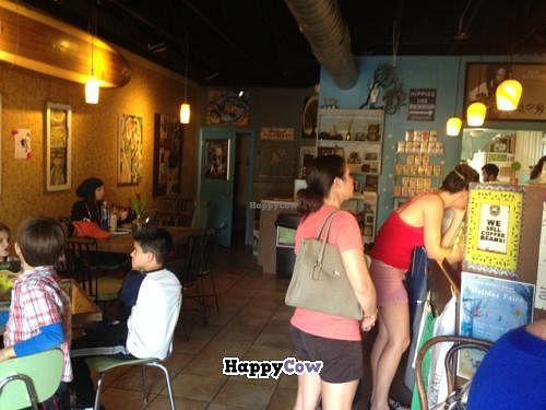 """Photo of Eco-Bean Organic Coffee House  by <a href=""""/members/profile/NomNomNominator"""">NomNomNominator</a> <br/>inside <br/> December 3, 2013  - <a href='/contact/abuse/image/41819/59756'>Report</a>"""