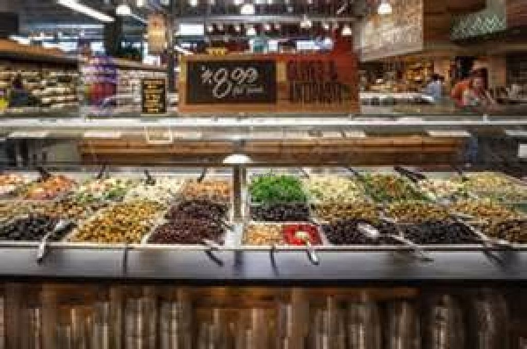 """Photo of Whole Foods Market  by <a href=""""/members/profile/VeganVegabond"""">VeganVegabond</a> <br/>Salad bars <br/> July 15, 2016  - <a href='/contact/abuse/image/41900/160118'>Report</a>"""