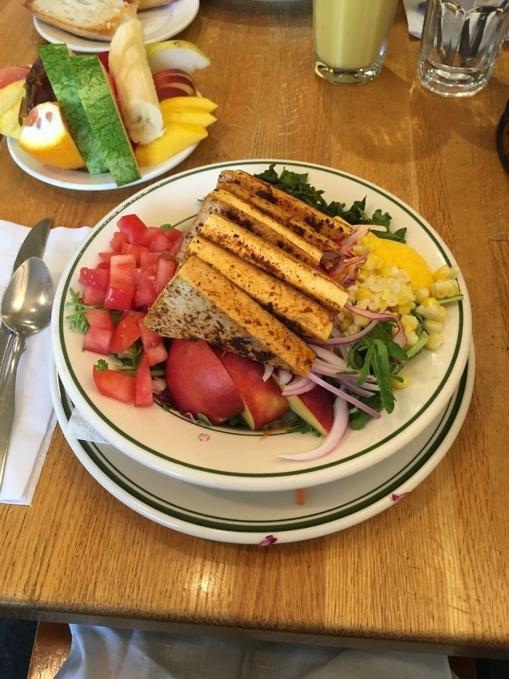 "Photo of Penny Cluse Cafe  by <a href=""/members/profile/rainean23"">rainean23</a> <br/>Marinated Tofu Salad <br/> June 11, 2016  - <a href='/contact/abuse/image/4190/231563'>Report</a>"