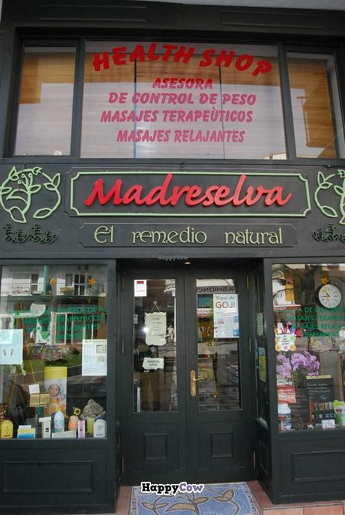 """Photo of Health Shop Madreselva  by <a href=""""/members/profile/Francoise%20Masson"""">Francoise Masson</a> <br/>Health food shop <br/> October 8, 2013  - <a href='/contact/abuse/image/41926/56429'>Report</a>"""