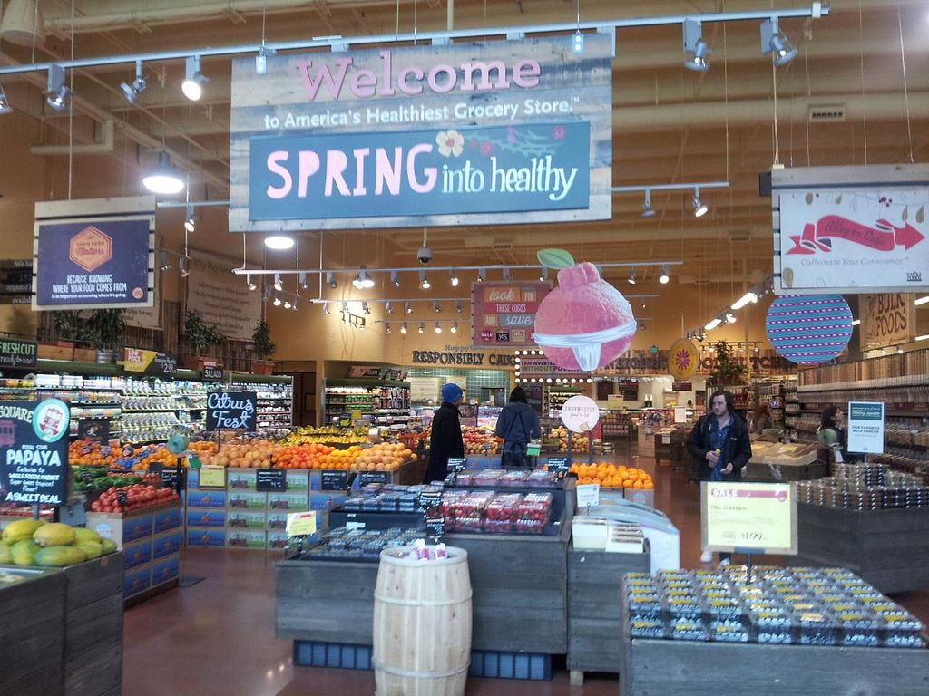 Photo of Whole Foods Market - Trolley Square  by Navegante <br/>Taken 03-18-2014 <br/> March 21, 2014  - <a href='/contact/abuse/image/41945/66241'>Report</a>
