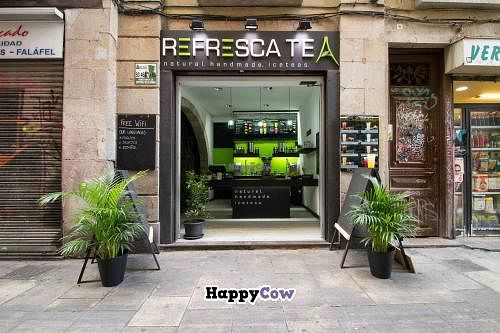 """Photo of Refresca Tea - El Born  by <a href=""""/members/profile/phil_rides"""">phil_rides</a> <br/>This is the shop! You can find it close to a couple of vegertarian and vegan restaurants in a street called C/Escudellers, number 56 <br/> October 1, 2013  - <a href='/contact/abuse/image/41948/56086'>Report</a>"""