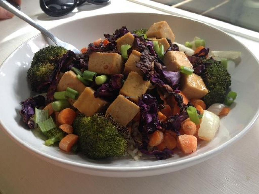 "Photo of Cashew  by <a href=""/members/profile/Anita%20Good%20Meal"">Anita Good Meal</a> <br/>Asian orange-glazed tofu with rice, broccoli, carrots, onions, and cabbage <br/> September 11, 2014  - <a href='/contact/abuse/image/41952/79608'>Report</a>"