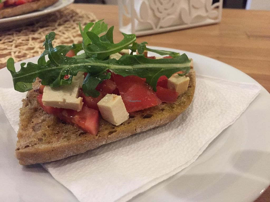 "Photo of Vegan Time  by <a href=""/members/profile/monmart"">monmart</a> <br/>Bruschetta <br/> November 2, 2014  - <a href='/contact/abuse/image/41953/84405'>Report</a>"