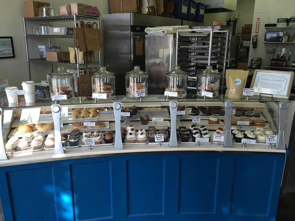 """Photo of Reverie Bakeshop  by <a href=""""/members/profile/Vegan%20Vagabond"""">Vegan Vagabond</a> <br/>Display case <br/> June 7, 2014  - <a href='/contact/abuse/image/42018/71568'>Report</a>"""