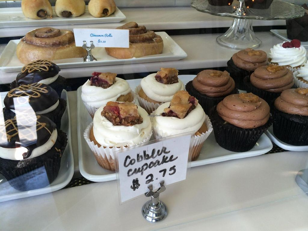 """Photo of Reverie Bakeshop  by <a href=""""/members/profile/Vegan%20Vagabond"""">Vegan Vagabond</a> <br/>Cupcakes! <br/> June 7, 2014  - <a href='/contact/abuse/image/42018/71569'>Report</a>"""