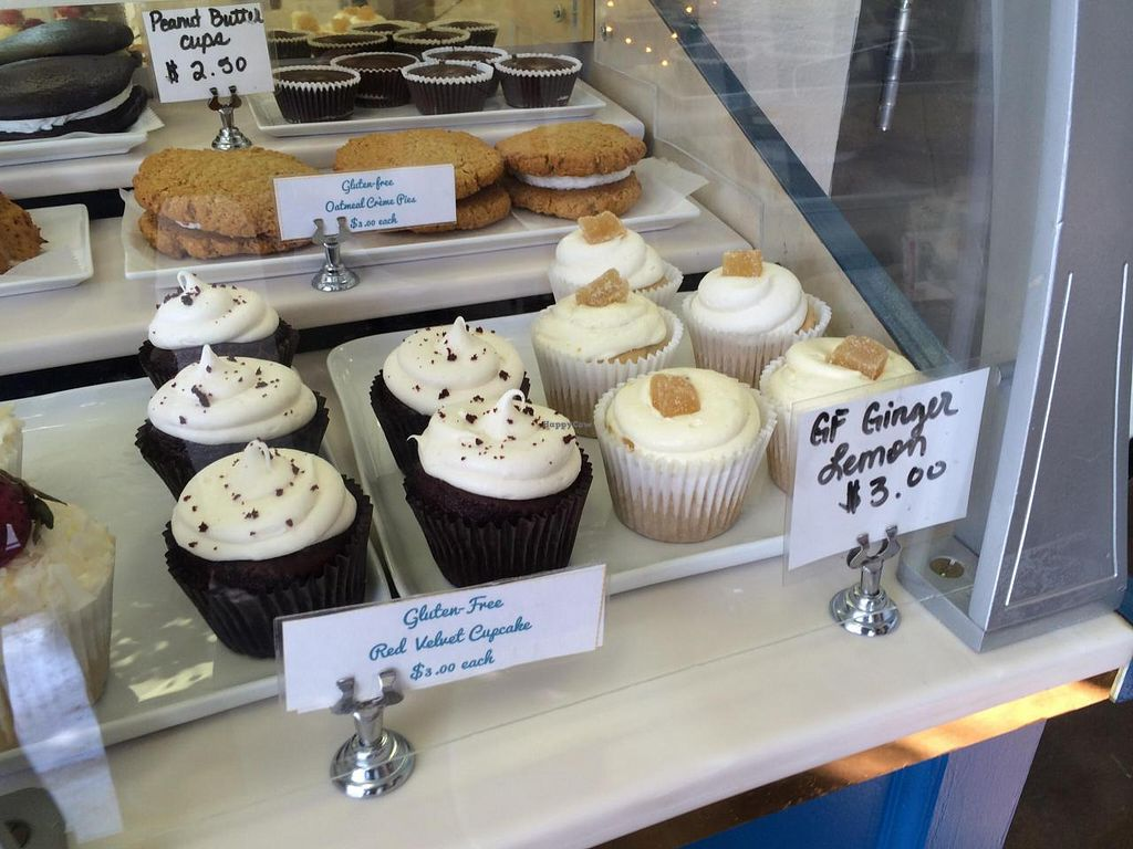 """Photo of Reverie Bakeshop  by <a href=""""/members/profile/Vegan%20Vagabond"""">Vegan Vagabond</a> <br/>Gluten free cupcakes! <br/> June 7, 2014  - <a href='/contact/abuse/image/42018/71570'>Report</a>"""