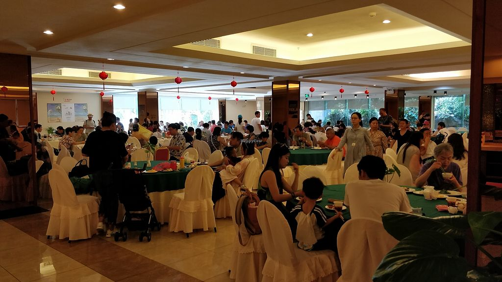 """Photo of Yuan Qi Lou - Nanshan Temple  by <a href=""""/members/profile/ultm8"""">ultm8</a> <br/>Dinning area <br/> January 26, 2018  - <a href='/contact/abuse/image/42048/351042'>Report</a>"""