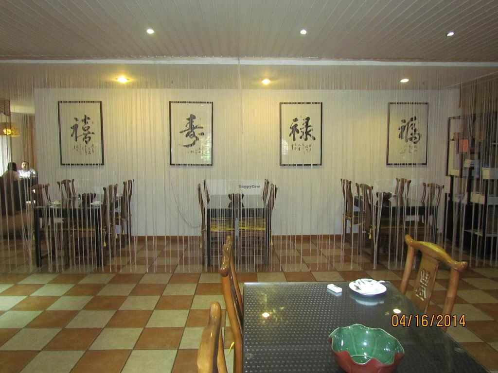 """Photo of Tian Yuan - Countryside Vegetarian  by <a href=""""/members/profile/papajonquinn"""">papajonquinn</a> <br/>Very Stylish Dining Areas <br/> April 17, 2014  - <a href='/contact/abuse/image/42065/67832'>Report</a>"""