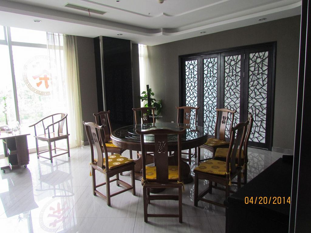 """Photo of CLOSED: Xinxiang Sushijie - Vegetarian World  by <a href=""""/members/profile/papajonquinn"""">papajonquinn</a> <br/>modern Tea House - Veg restaurant <br/> April 22, 2014  - <a href='/contact/abuse/image/42068/68286'>Report</a>"""