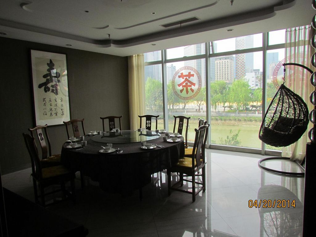 """Photo of CLOSED: Xinxiang Sushijie - Vegetarian World  by <a href=""""/members/profile/papajonquinn"""">papajonquinn</a> <br/>Interior shot <br/> April 22, 2014  - <a href='/contact/abuse/image/42068/68287'>Report</a>"""