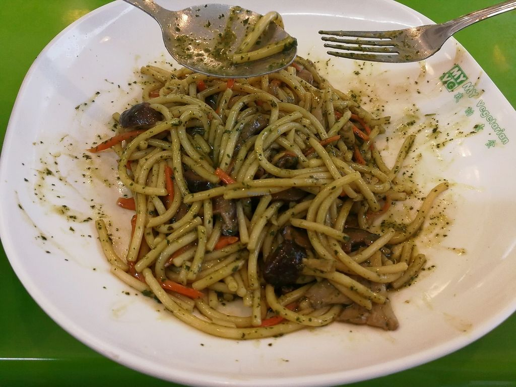 "Photo of My Vegetarian  by <a href=""/members/profile/Catherine50"">Catherine50</a> <br/>炒意大利面。 <br/> January 2, 2018  - <a href='/contact/abuse/image/42085/342113'>Report</a>"