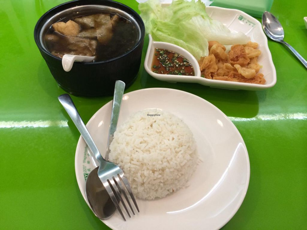 Photo of My Vegetarian  by seelim99 <br/>Bak Kut Teh rice <br/> December 26, 2013  - <a href='/contact/abuse/image/42085/60961'>Report</a>