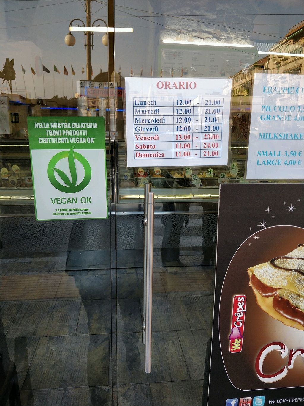 """Photo of Slurp Gelateria  by <a href=""""/members/profile/Logge"""">Logge</a> <br/>vegan ok <br/> March 24, 2018  - <a href='/contact/abuse/image/42117/375459'>Report</a>"""