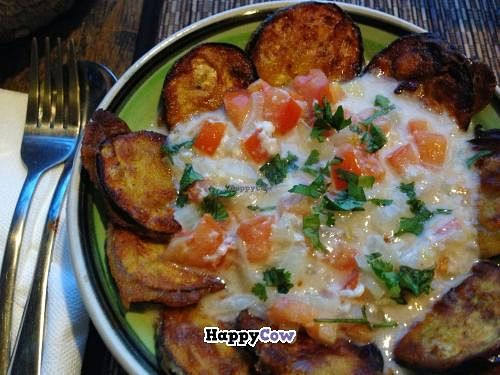 """Photo of Eco Cafe  by <a href=""""/members/profile/Adopt%20A%20Pet"""">Adopt A Pet</a> <br/>Eggplant in fresh coconut sauce <br/> October 8, 2013  - <a href='/contact/abuse/image/42159/56421'>Report</a>"""