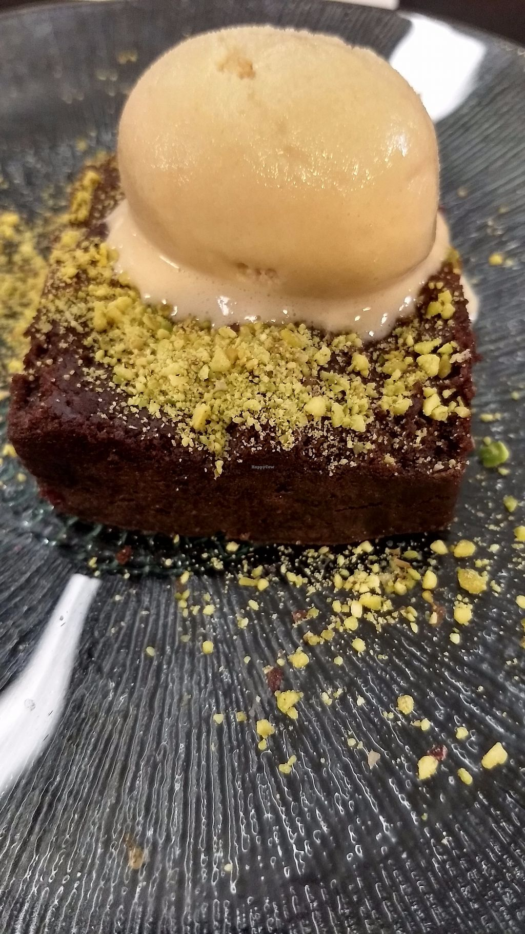 """Photo of Malmo  by <a href=""""/members/profile/mostlyvegan75"""">mostlyvegan75</a> <br/>Brownie + Macadamia ice cream <br/> September 22, 2017  - <a href='/contact/abuse/image/42169/307053'>Report</a>"""