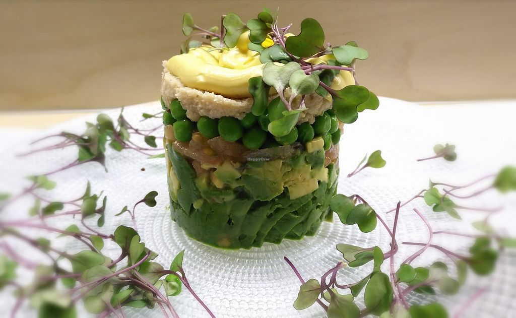 """Photo of Malmo  by <a href=""""/members/profile/BrunoMontez"""">BrunoMontez</a> <br/>Veggie salad with avo and peas <br/> March 17, 2018  - <a href='/contact/abuse/image/42169/372109'>Report</a>"""