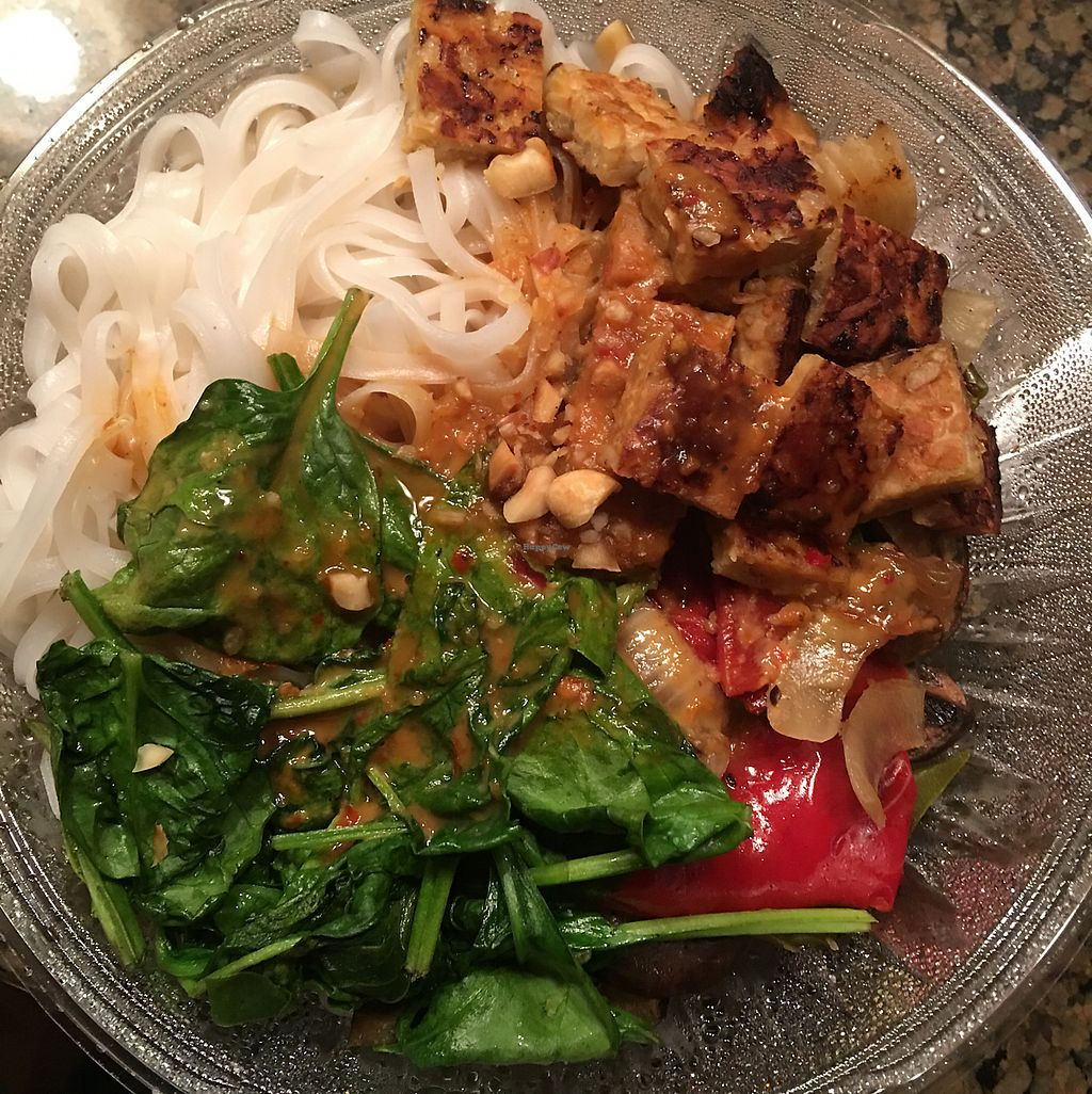"""Photo of PositiviTea  by <a href=""""/members/profile/Heatherd"""">Heatherd</a> <br/>Thai Peanut Bowl - Delicious <br/> June 9, 2017  - <a href='/contact/abuse/image/42188/267289'>Report</a>"""