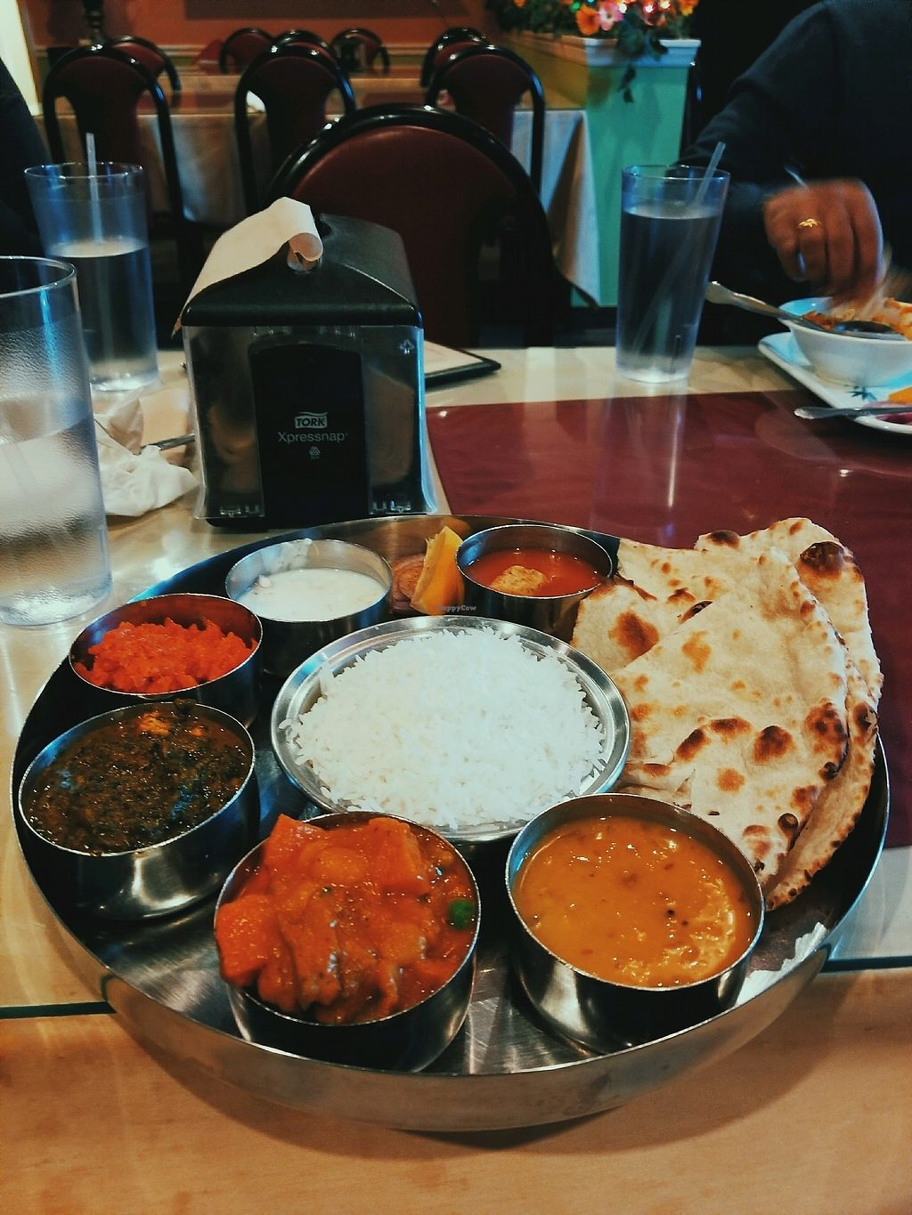"""Photo of Woodlands  by <a href=""""/members/profile/claybanks1989"""">claybanks1989</a> <br/>forget the name of this dish but everything was delicious! <br/> January 11, 2018  - <a href='/contact/abuse/image/4222/345241'>Report</a>"""