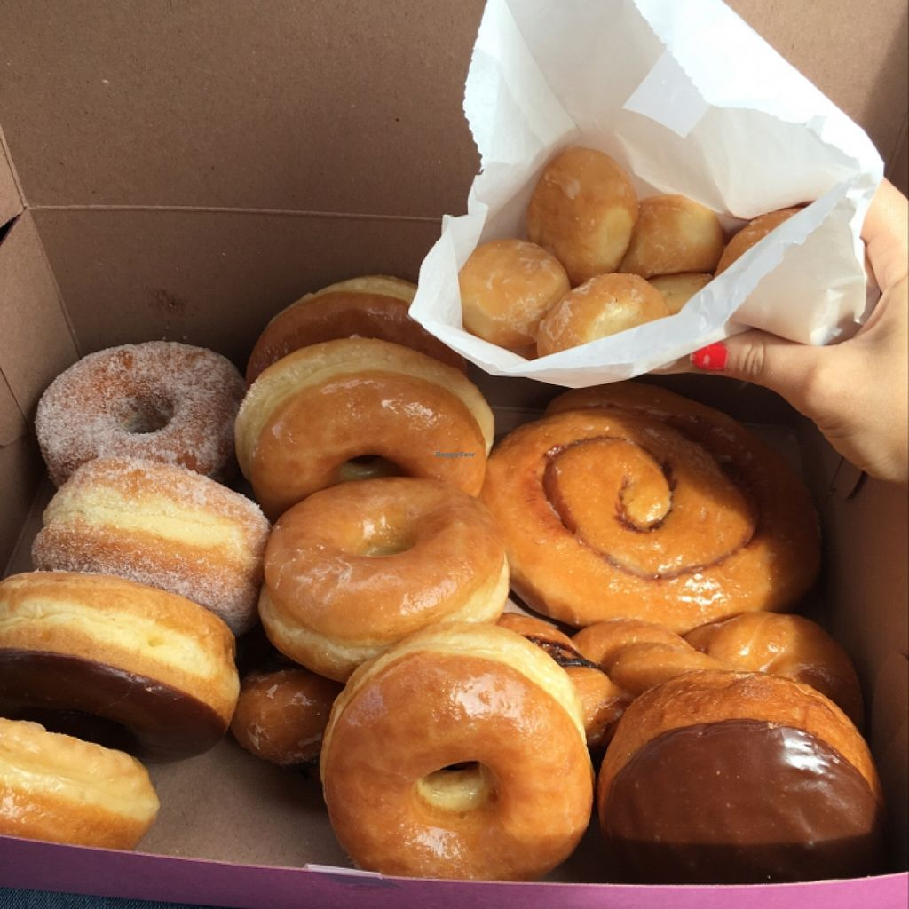 "Photo of Ronald's Donuts  by <a href=""/members/profile/Sarah_veg"">Sarah_veg</a> <br/>yum!!! <br/> March 14, 2016  - <a href='/contact/abuse/image/4228/139986'>Report</a>"