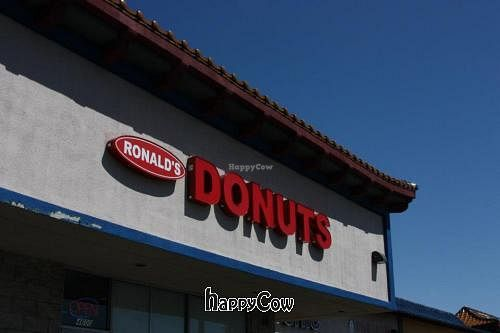 "Photo of Ronald's Donuts  by <a href=""/members/profile/QuothTheRaven"">QuothTheRaven</a> <br/>Outside <br/> May 2, 2013  - <a href='/contact/abuse/image/4228/47686'>Report</a>"