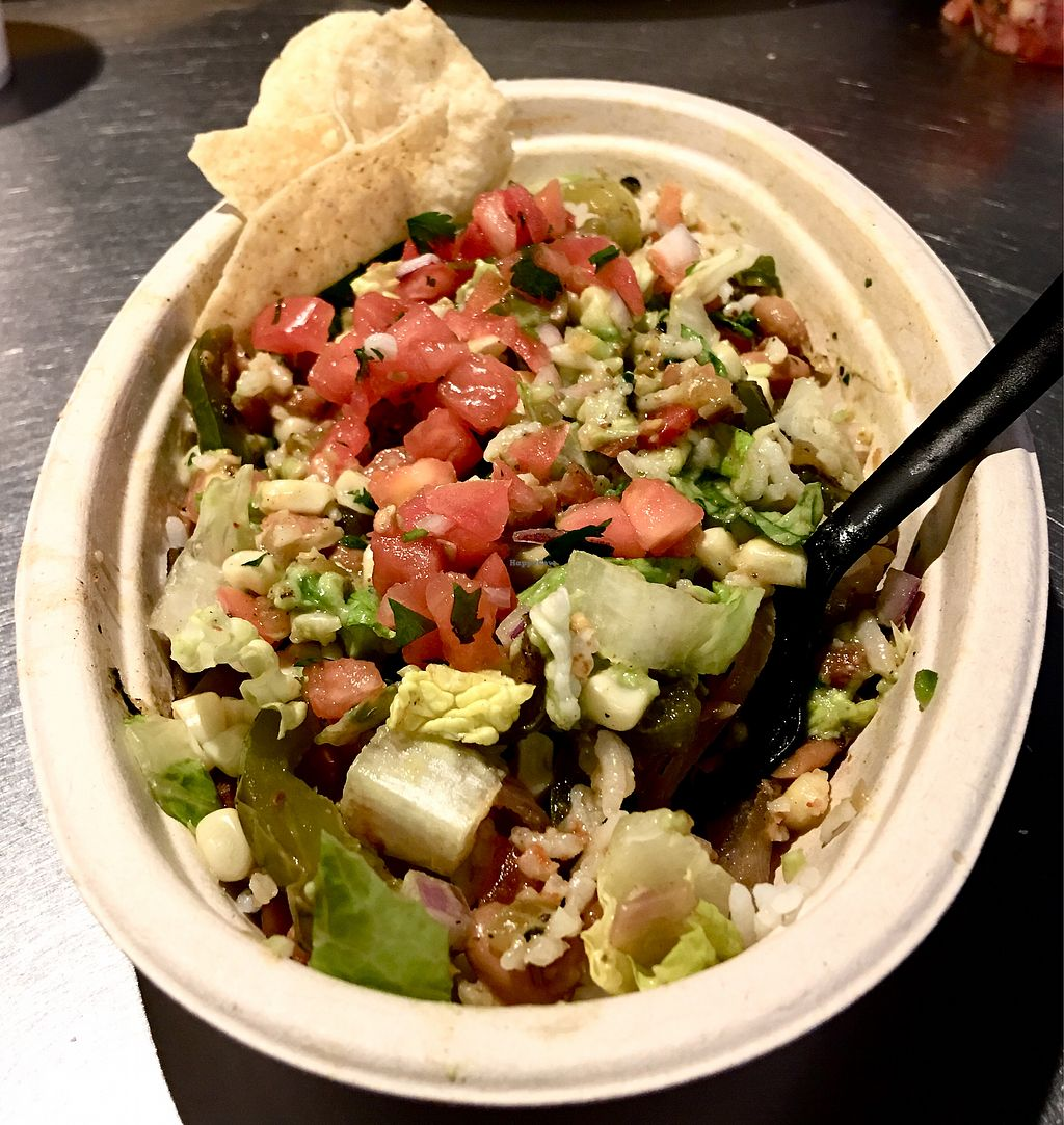 "Photo of Chipotle  by <a href=""/members/profile/ChereseTarter"">ChereseTarter</a> <br/>Chipotle Veggie Bowl <br/> March 4, 2018  - <a href='/contact/abuse/image/42292/366401'>Report</a>"
