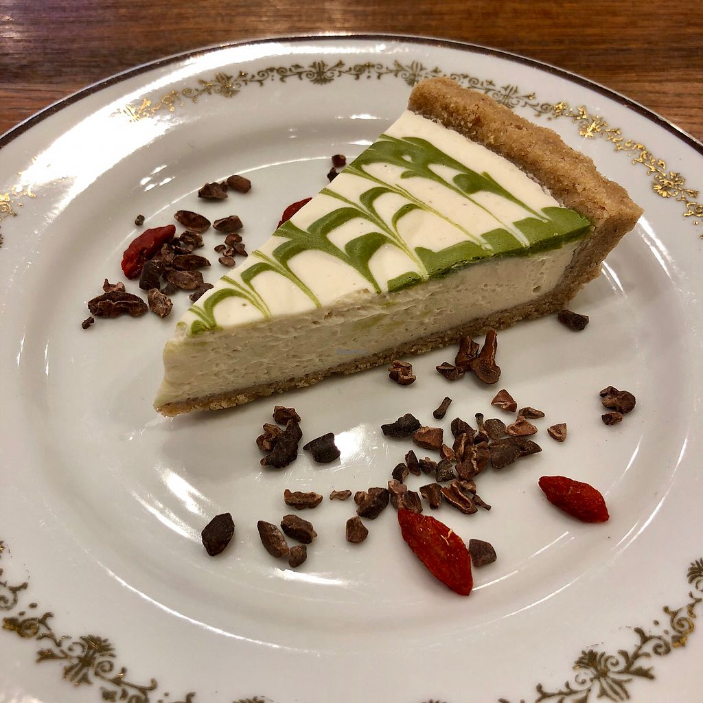 """Photo of Choice  by <a href=""""/members/profile/earthville"""">earthville</a> <br/>Matcha cheesecake <br/> February 6, 2018  - <a href='/contact/abuse/image/42327/355574'>Report</a>"""