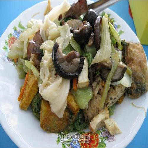 """Photo of Nam Heng Vegetarian  by <a href=""""/members/profile/cvxmelody"""">cvxmelody</a> <br/>Plate of food from buffet <br/> October 24, 2010  - <a href='/contact/abuse/image/4232/6179'>Report</a>"""