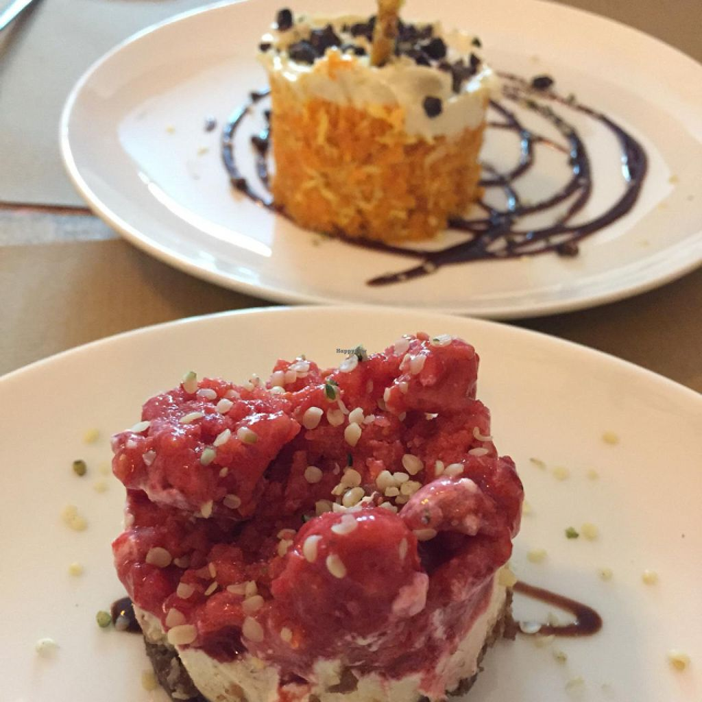 """Photo of El Cafe Blueproject  by <a href=""""/members/profile/rawbee"""">rawbee</a> <br/>raw vegan cake <br/> May 9, 2015  - <a href='/contact/abuse/image/42332/101696'>Report</a>"""