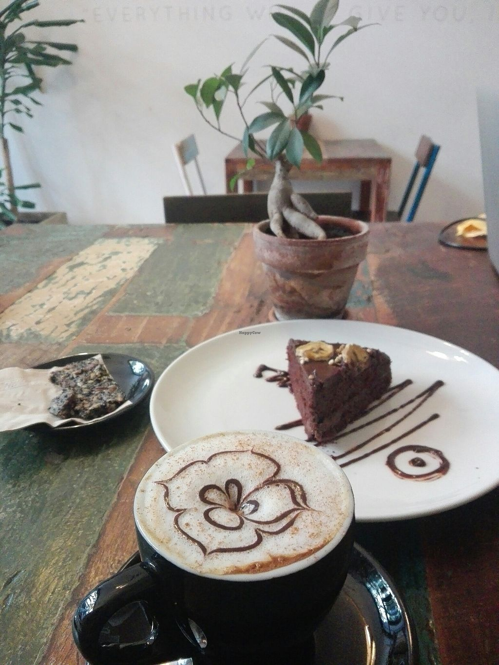 "Photo of El Cafe Blueproject - temporarily closed  by <a href=""/members/profile/Pteri"">Pteri</a> <br/>Coconut sugar chocolate cake and cereal caffeine free coffee <br/> July 12, 2017  - <a href='/contact/abuse/image/42332/279477'>Report</a>"