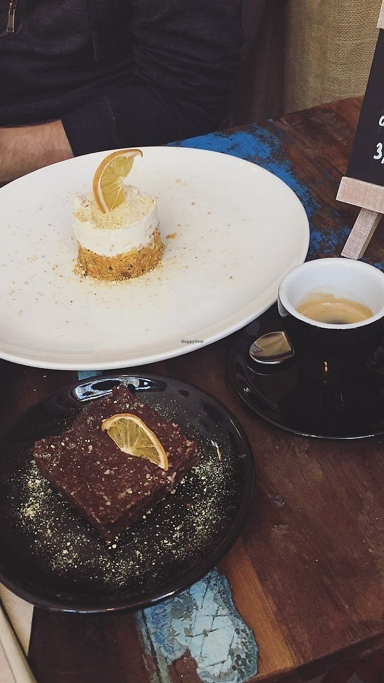 "Photo of El Cafe Blueproject - temporarily closed  by <a href=""/members/profile/JulkaHanudelova"">JulkaHanudelova</a> <br/>Super delicious carrot mini cake and brownie! <br/> November 27, 2017  - <a href='/contact/abuse/image/42332/329720'>Report</a>"