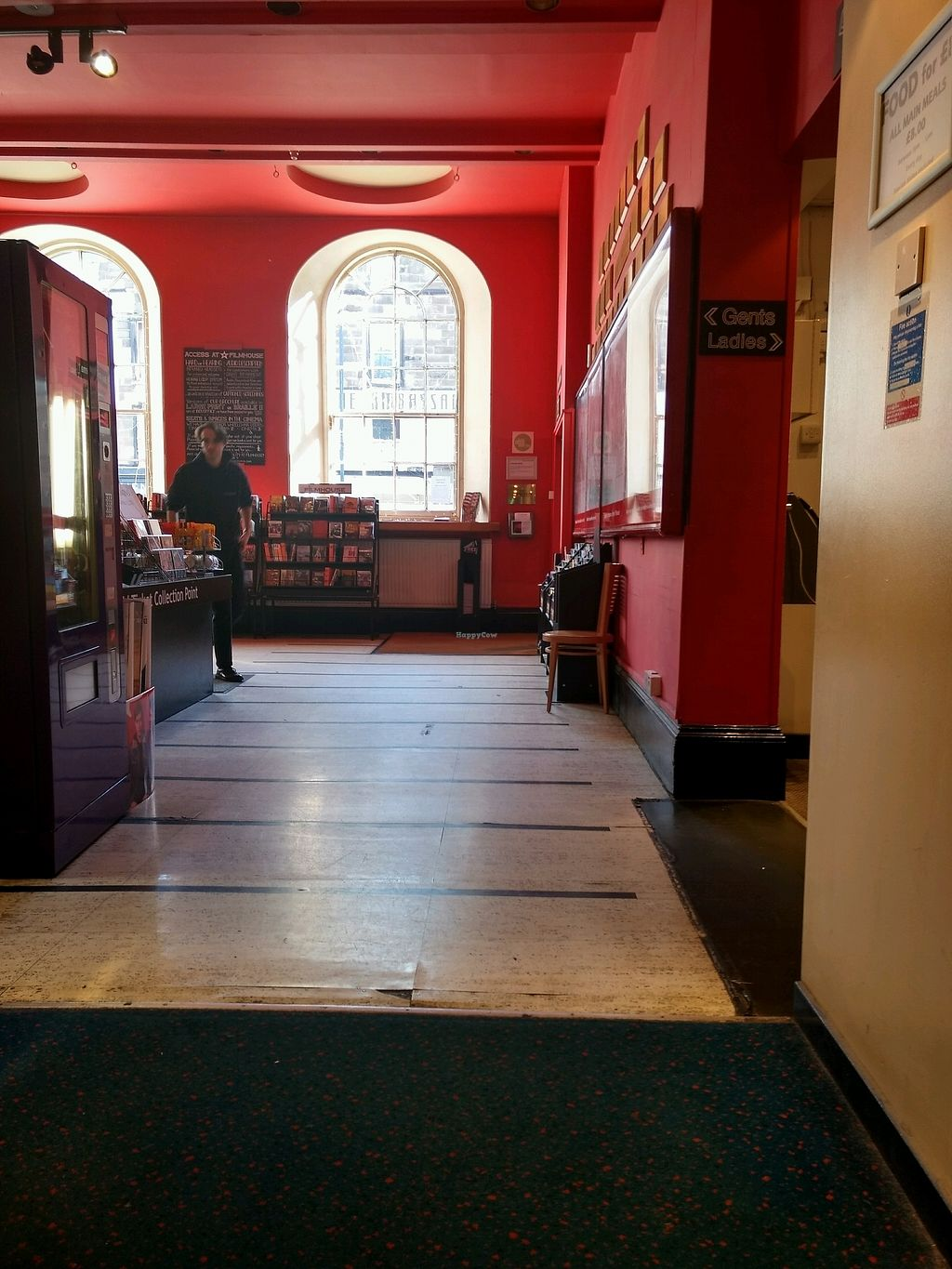 """Photo of Filmhouse Cinema Cafe Bar  by <a href=""""/members/profile/craigmc"""">craigmc</a> <br/>foyer <br/> April 1, 2018  - <a href='/contact/abuse/image/42360/379284'>Report</a>"""
