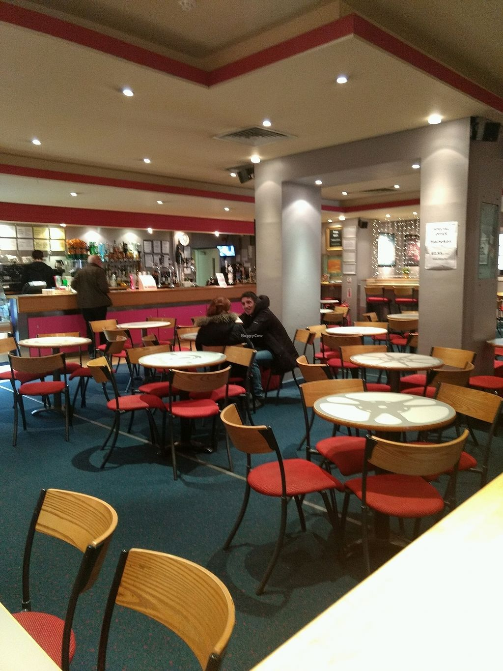 """Photo of Filmhouse Cinema Cafe Bar  by <a href=""""/members/profile/craigmc"""">craigmc</a> <br/>seating <br/> April 1, 2018  - <a href='/contact/abuse/image/42360/379285'>Report</a>"""