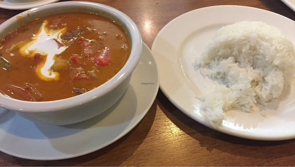 """Photo of Sunflower Thai Vegetarian Restaurant  by <a href=""""/members/profile/Jameskille"""">Jameskille</a> <br/>curry <br/> July 25, 2017  - <a href='/contact/abuse/image/4236/284600'>Report</a>"""