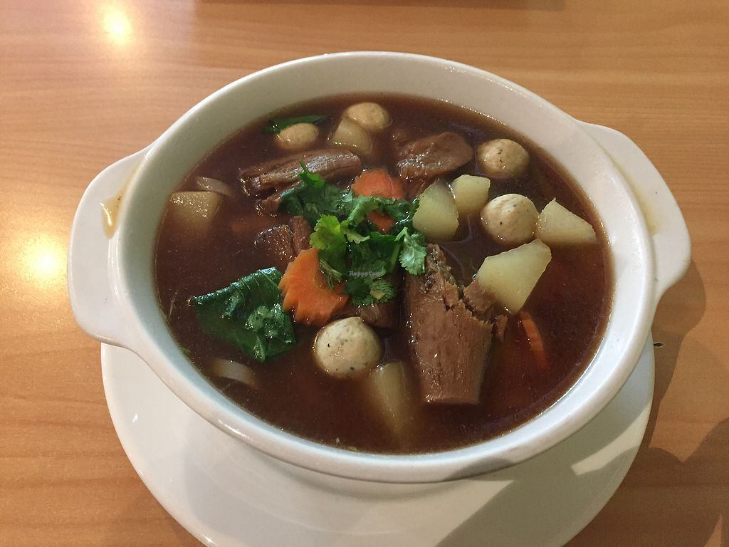 """Photo of Sunflower Thai Vegetarian Restaurant  by <a href=""""/members/profile/ChiamLongThiam"""">ChiamLongThiam</a> <br/>Sunflower noodle soup <br/> August 17, 2017  - <a href='/contact/abuse/image/4236/293624'>Report</a>"""