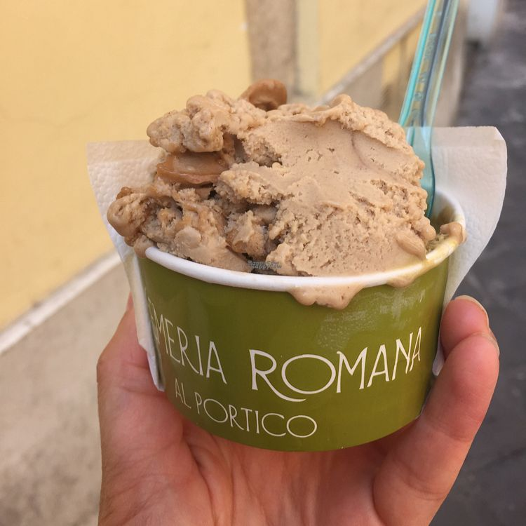 "Photo of Cremeria Romana  by <a href=""/members/profile/NicB"">NicB</a> <br/>€5 tub of pistachio and hazelnut  <br/> September 14, 2016  - <a href='/contact/abuse/image/42406/175590'>Report</a>"