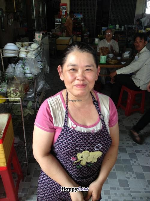"Photo of Quan Chay Mai Thao  by <a href=""/members/profile/jb73"">jb73</a> <br/>Restaurant owner - she's very friendly and gracious <br/> October 13, 2013  - <a href='/contact/abuse/image/42419/56683'>Report</a>"