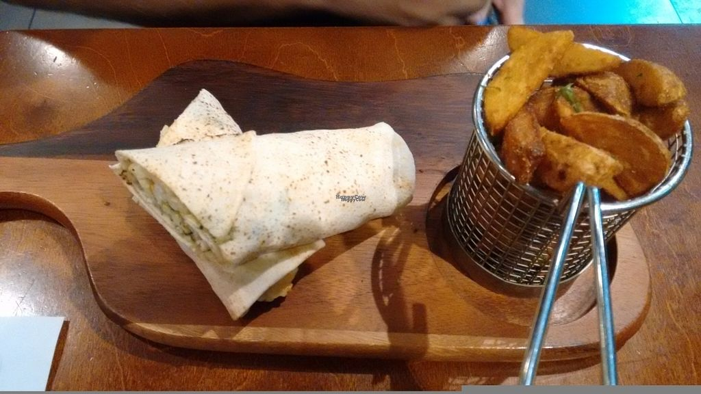 """Photo of Umi Falafel - Dublin 2  by <a href=""""/members/profile/craigmc"""">craigmc</a> <br/>My friends halloumi wrap <br/> August 19, 2016  - <a href='/contact/abuse/image/42422/169941'>Report</a>"""