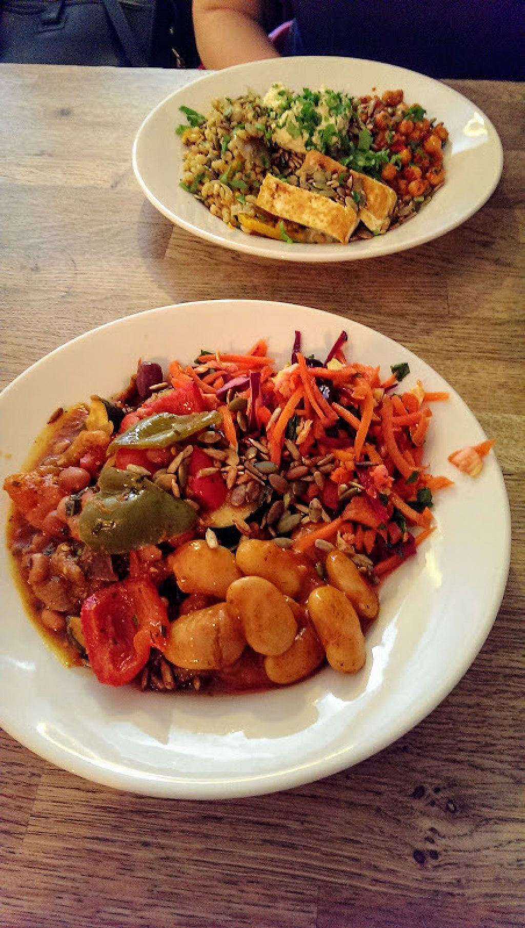 """Photo of Will's Deli  by <a href=""""/members/profile/sophiecow"""">sophiecow</a> <br/>Vegan lunch salads  <br/> February 5, 2017  - <a href='/contact/abuse/image/42429/222941'>Report</a>"""