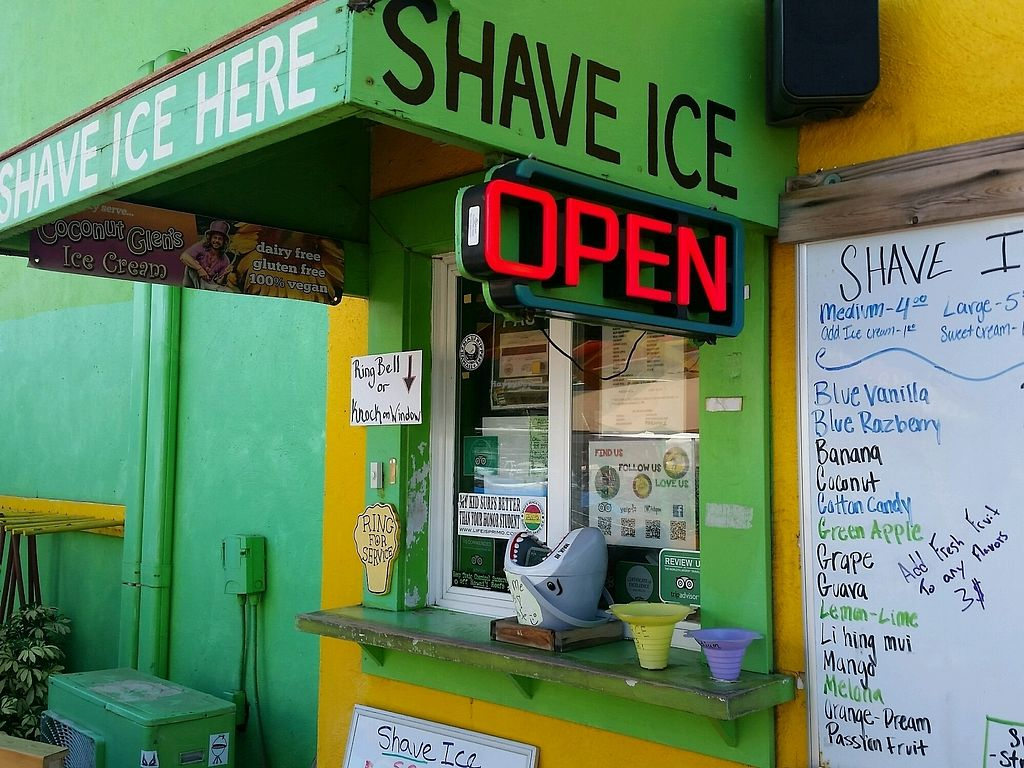 """Photo of Maui Mike's - Shaved Ice  by <a href=""""/members/profile/eric"""">eric</a> <br/>signage <br/> August 2, 2017  - <a href='/contact/abuse/image/42447/288108'>Report</a>"""