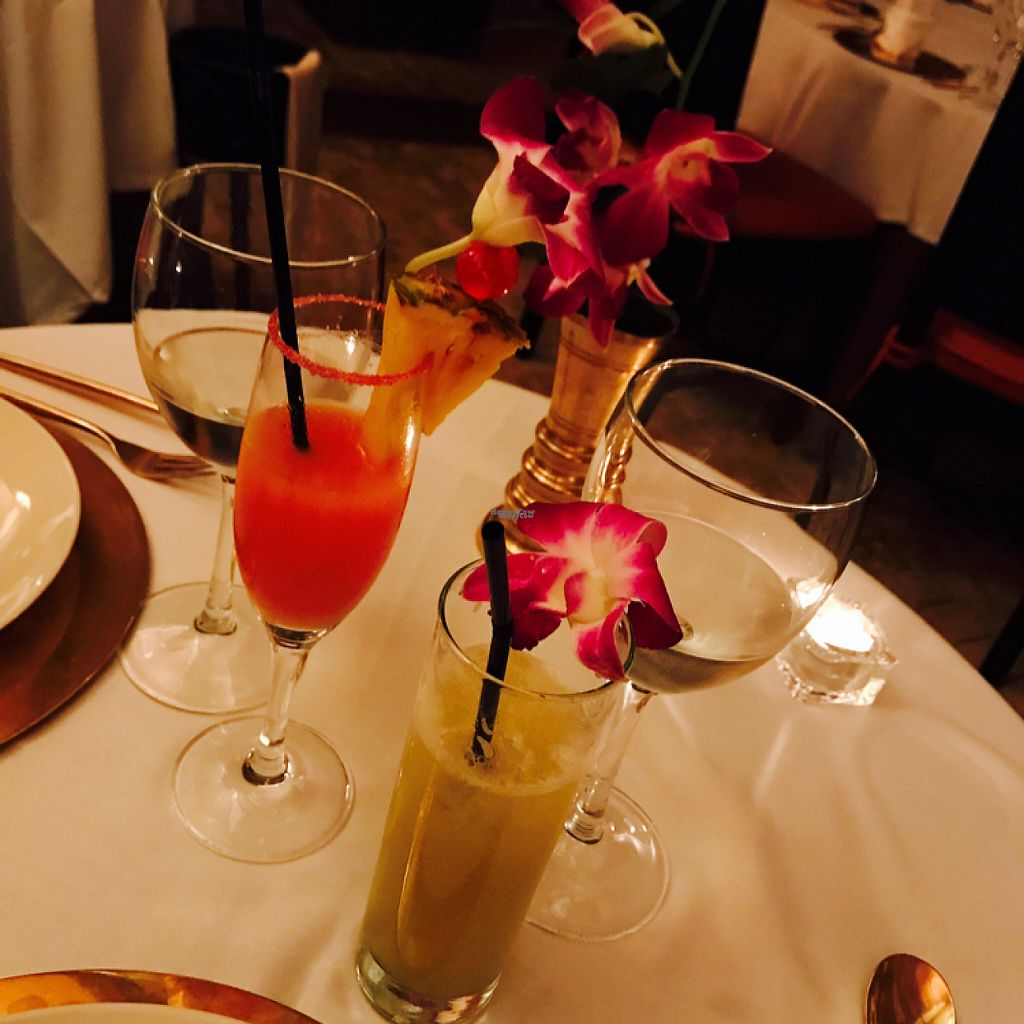 """Photo of Thai Barcelona  by <a href=""""/members/profile/Munich-Carol"""">Munich-Carol</a> <br/>Tolle Cocktails! <br/> February 12, 2017  - <a href='/contact/abuse/image/42471/226050'>Report</a>"""