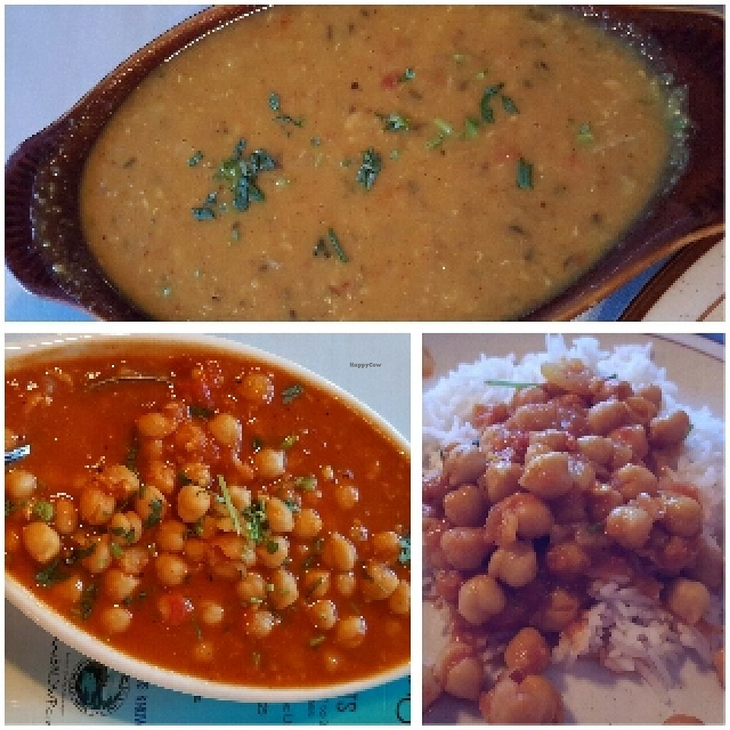 """Photo of Himalayan Restaurant  by <a href=""""/members/profile/Shnuddy"""">Shnuddy</a> <br/>Daal and Garbanzo Beans <br/> June 18, 2016  - <a href='/contact/abuse/image/42493/154700'>Report</a>"""