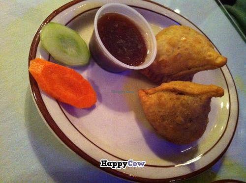 "Photo of Himalayan Restaurant  by <a href=""/members/profile/bdbdheybuck"">bdbdheybuck</a> <br/>Veg Samosas at Himalayan Restaurant <br/> October 25, 2013  - <a href='/contact/abuse/image/42493/57281'>Report</a>"